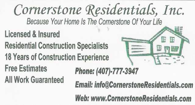 Residential Construction Specialists