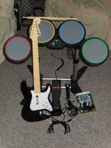 Xbox 360 Rock Band Set Or Best Offer - $50