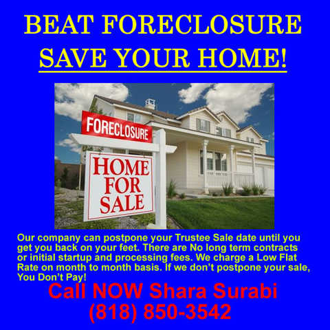Stop Foreclosure, Keep Your Home