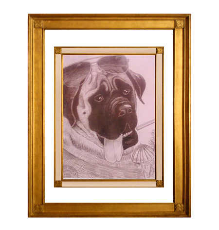 Beautifully Sketched Charcoal Pet Portraits 50.00