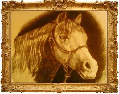 Beautifully Detailed Charcoal Sketched Pet Portraits 50.00