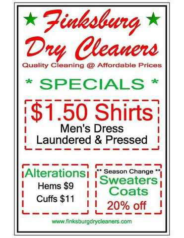 Finksburg Dry Cleaners