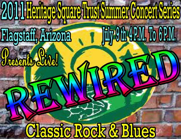 Rewired / 2011 Heritage Square Trust Summer Concert Series