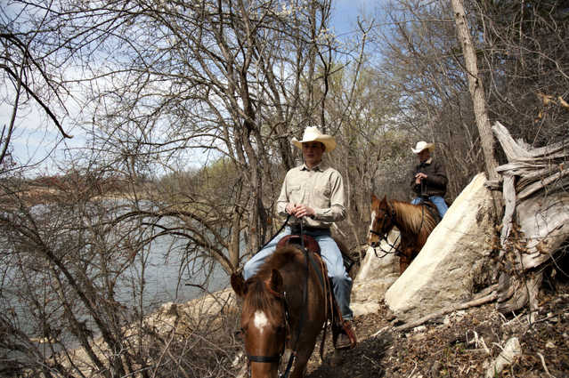Horse Rides For The Whole Family Along Brazos River