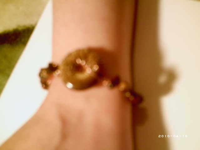 Tiger Eye Pendet Bracelet