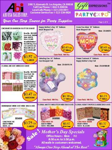 Party Supplies Your One Stop Source Partyexpo
