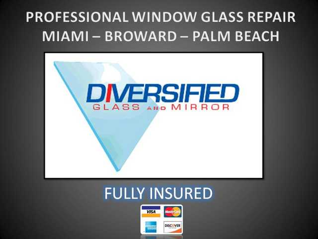 ☰ L A U D E R D A L E Glass Repair - Patio Door Repair - Window Repai