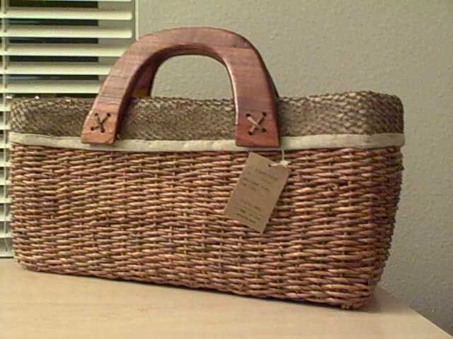 $39 Hand Weaved Vintage Purse - Brand New