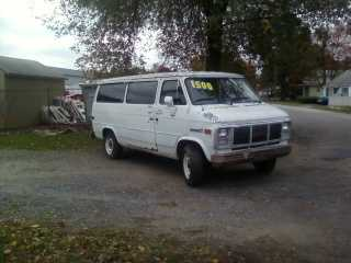 1990 Gmc 3500 Work Van (Titled As A 1500 Saves $ On Reg)