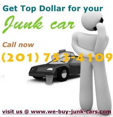 Call @ 201 - 753 - 4109 And Get Best Value For Your Junk Cars In Nj