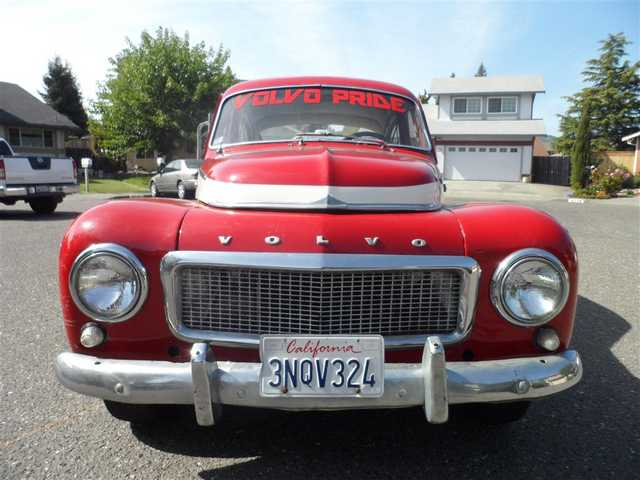 1959 Pv544 Classic Volvo Custom Red And White Paint Completely Re