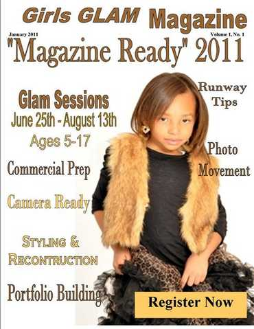 Girls Glam Summer Program Magazine Ready