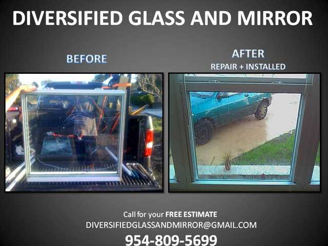 Miami + Broward Broken Window Repair - Glass Repair