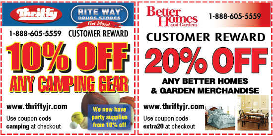 Payless Thrifty Drugs Futons & Couches 20% Off Sale