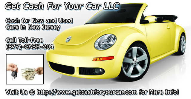 It's Easy To Get Cash For Your Car In New Jersey! (877) - Cash - 204