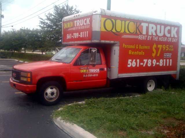 Box Truck Rentals From $7.95 Per Hour…lowest Rates If Florida!