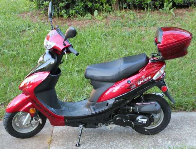 50cc Scooter – Brand New!
