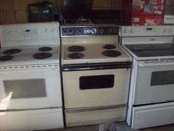 Used Stoves For Sale.