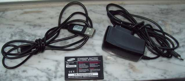 T - Mobile Samsung 2 Charger Parts / Battery