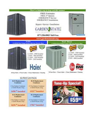 Beat The Heat Affordable Ac Cooling Hvac Freon Furnace