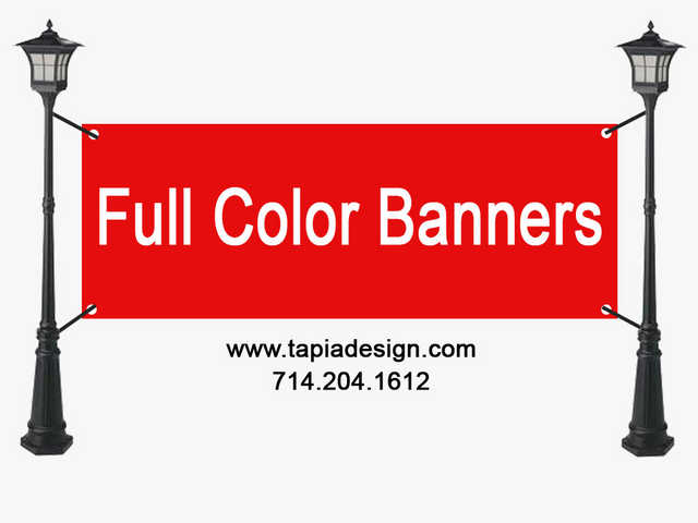 Banner Printing In Anaheim
