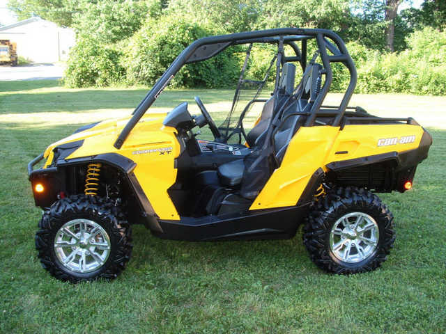 2011 Can Am Commander Xt 4x4
