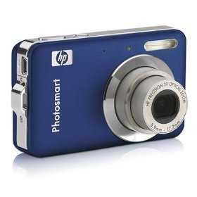 Hp R742 Photosmart Digital Camera 7mp 3.0 Optical Zoom (Dark Blue