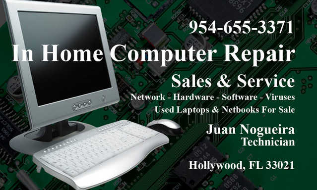 In Home Computer Repair