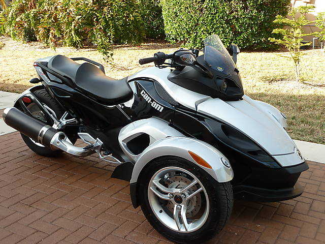 2008 Can - Am Spyder Roadster Sm5