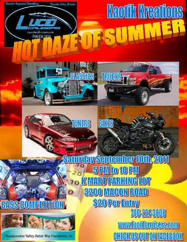Hot Daze Of Summer Car / Bike / Truck Show