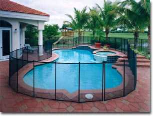 Removable Pool Fence - Deck Plugs - Replacement Posts