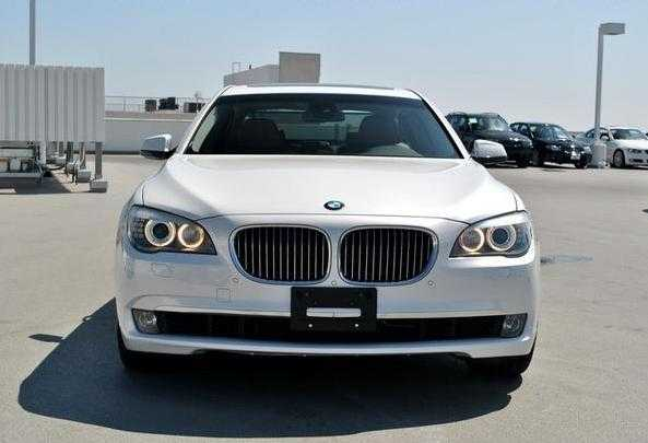 2009 Bmw 750li Alpine White