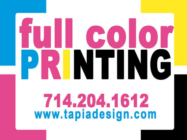 Rack Card Flyers Printing