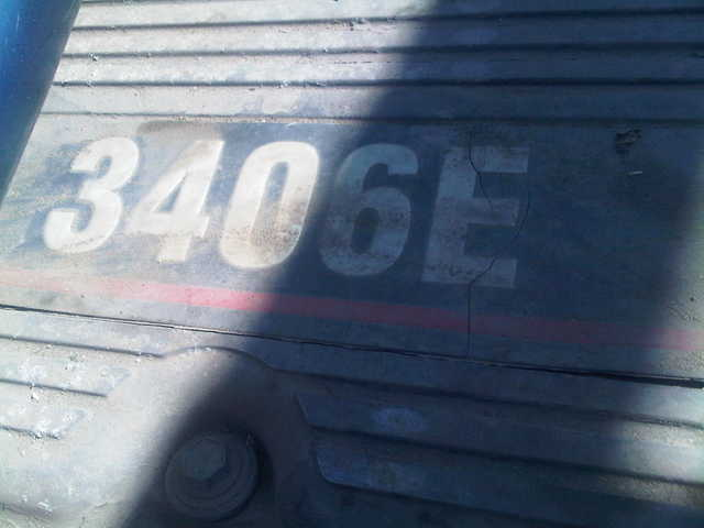 3406 E Caterpillar Engine Very Good Condition