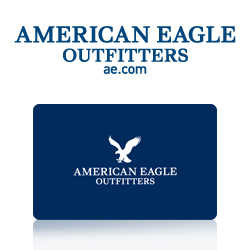 �American Eagle Gift Cards Each Contain $ 50.00