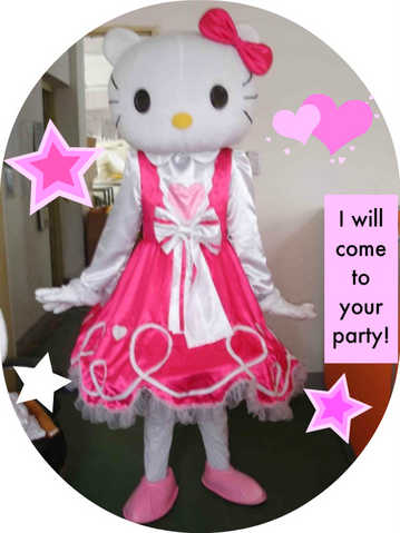 Invite 'hello Kitty' Or Dora To Your Next Event!