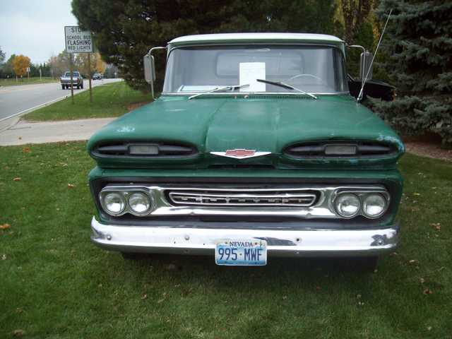 1961 Chevy Apache Factory 283,4speed Power Brakesfrom Nevada