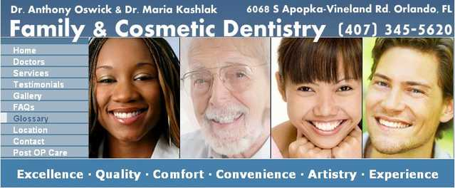 Dr Anthony Oswick - Orlando Family Dentist By Dr Anthony Oswick
