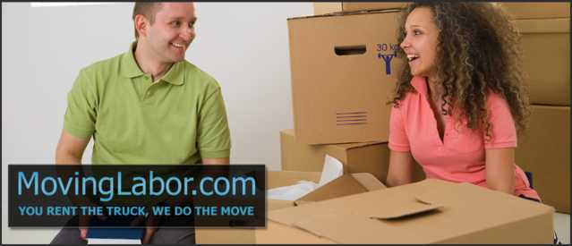 Moving Services, Labor, Truck Rentals