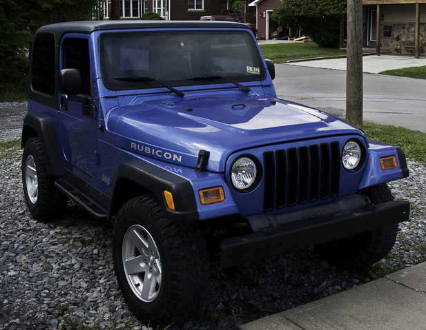 2003 Jeep Wrangler Rubicon Hard Top 90 000 Miles