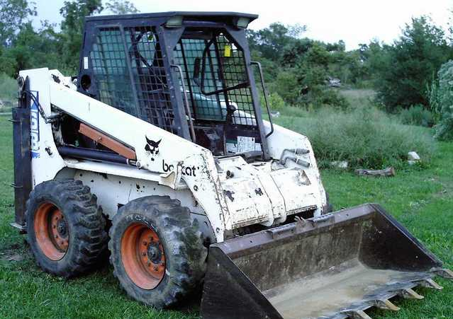 Bobcat Model 763f Has Heating & Cooling