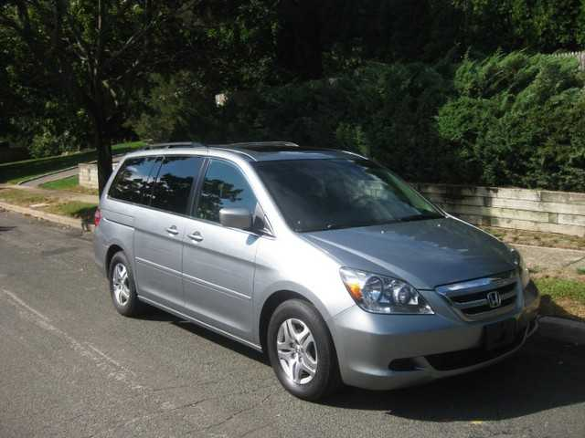 2005 Honda Odyssey Exl Dvd Leather