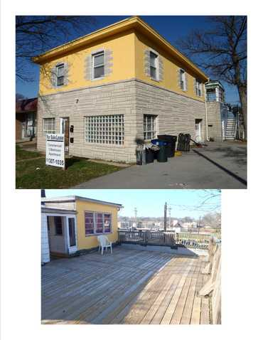 Two Story Retail / Residential Building For Sale