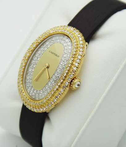 Cartier Paris Baignore Lady's Watch! Rare Piece!