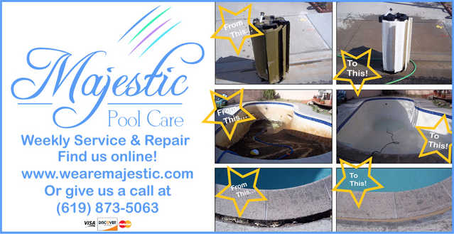 Majestic Pool Care Service Amp Repair Home Services San