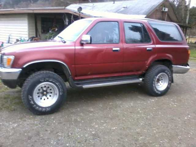 1990 Toyota 4 Runner Priced To Sell $1500