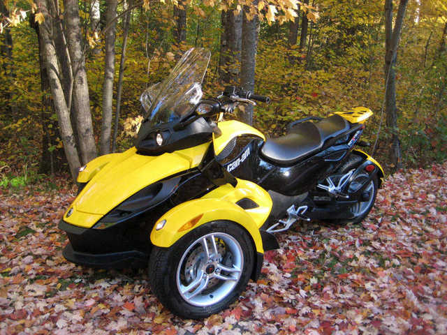 2009 can am spyder rs se5 spyder rs se5 atv 5 800. Black Bedroom Furniture Sets. Home Design Ideas