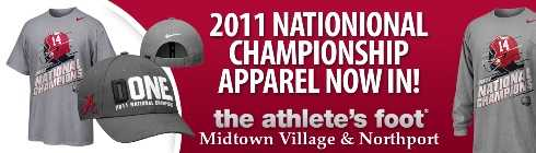 Official 2011 Bama National Championship Gear, Apparel, Tuscaloosa
