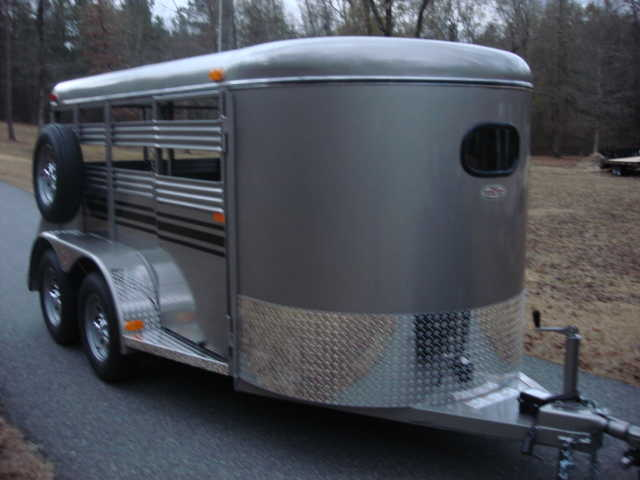New Bee Brand Mini - Livestock Trailer, Haul Goats, Ponies