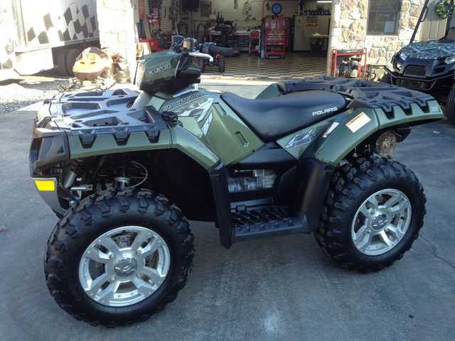 2009 Polaris Sportsman 850 Xp 4x4